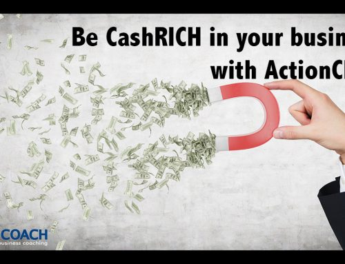 Learn how to be CashRICH in your business